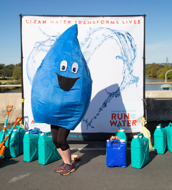 Run For The Water Benefiting the Gazelle Foundation