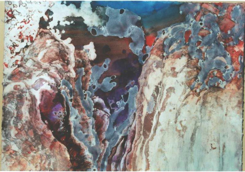 """Red Rock Canyon"", Canyon and Red Rock Series."
