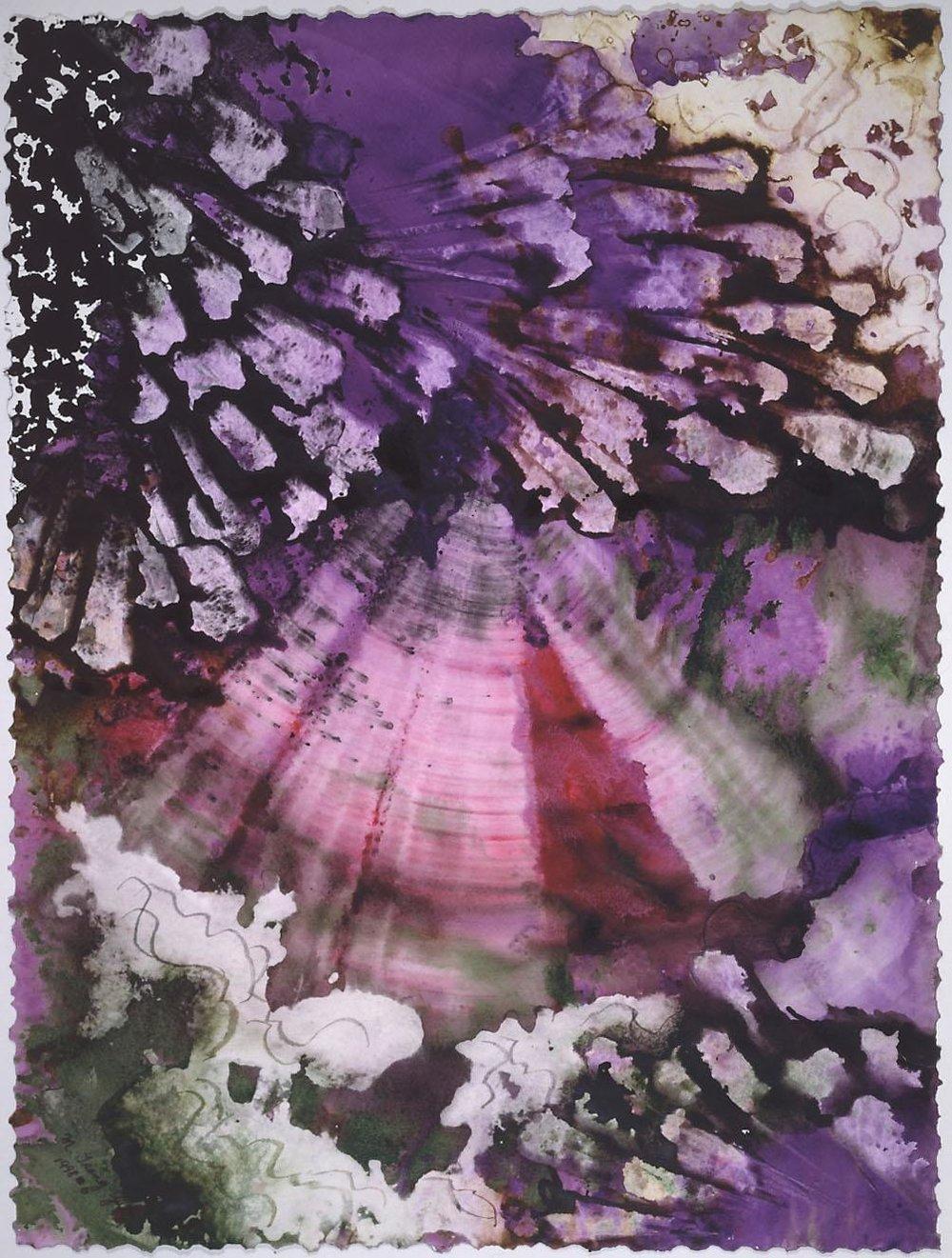 """""""Purple Crystal"""", Crystal Reef Series."""
