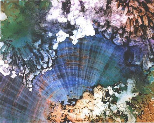"""Crystal Rays"", Crystal Reef Series."