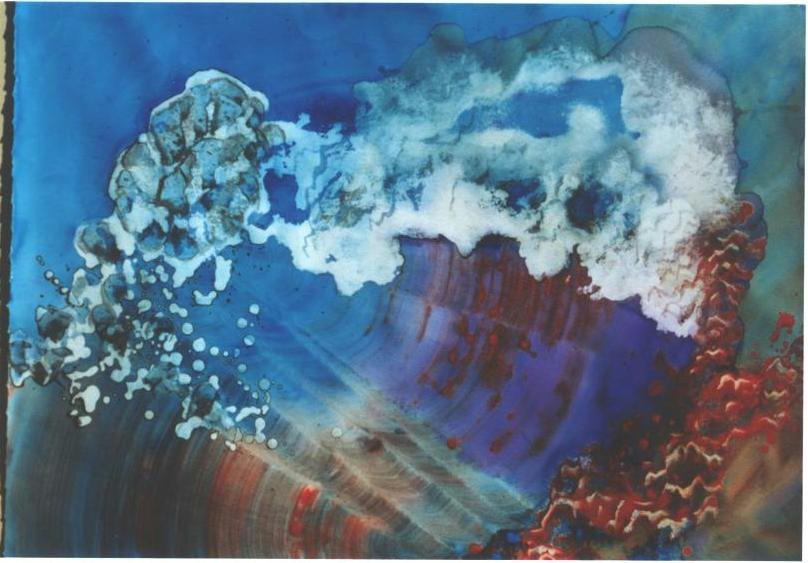 """""""Space Crystals"""", Crystal Reef Series"""