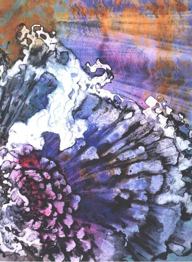 """""""Chrysandthemum Crystal"""", Crystal Reef Series."""