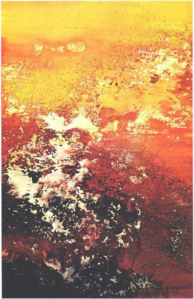 """""""Molten Lava"""" 1970, Molten Lava Series."""