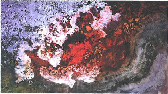 """Molten Lava Veil"", Molten Lava Series."