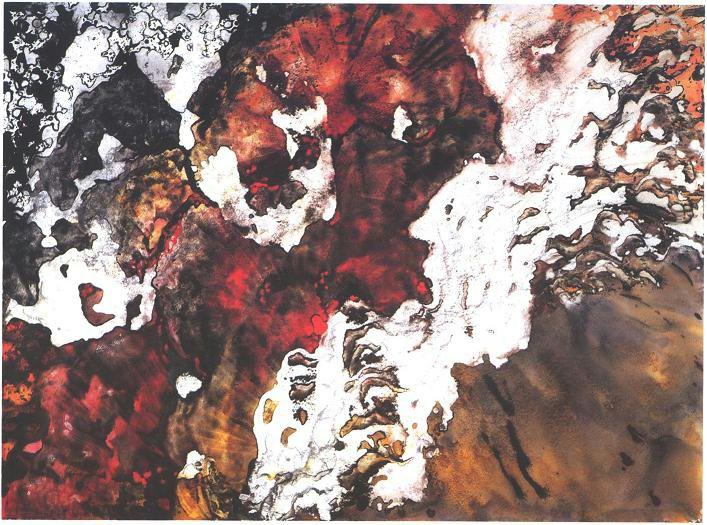 """Running Lava"", Molten Lava Series."