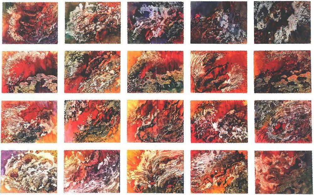 """Molten Lava Park"""", Molten Lava Series."""