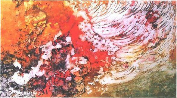 """""""Lava Sweep"""", Molten Lava Series."""