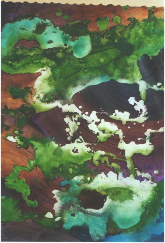 """Hanging Moss II"", Forest Moss Series."