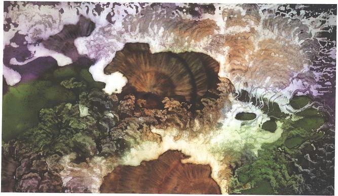 """Deep Sea Forest"", Deep Sea Garden Series."
