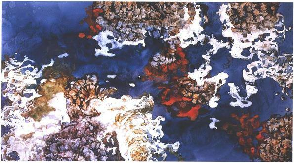 """""""Coral Reef"""", Dancing Coral Series."""