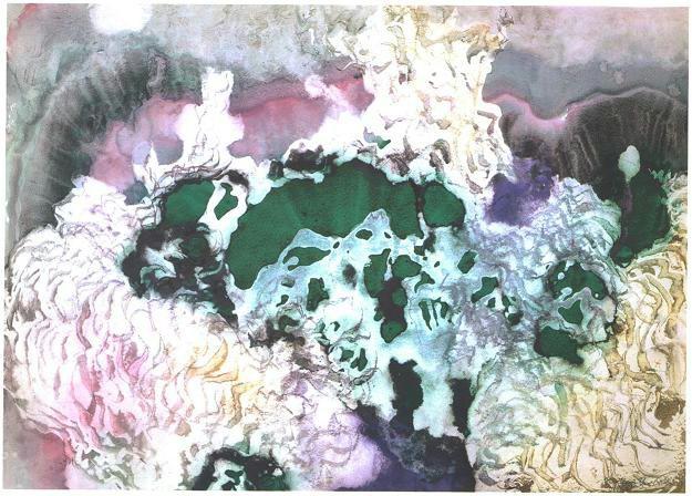 """""""Jade Coral"""", Dancing Coral Series."""