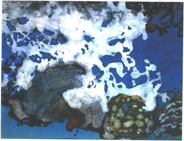"""""""Dancing Coral"""" 1992, Dancing Coral Series."""