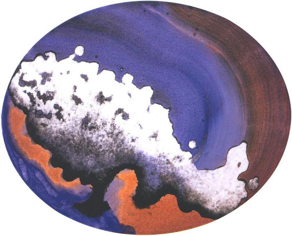"""""""Space Park 13"""", Mushroom Cloud Series."""