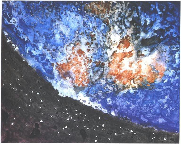 """""""Planet Earth"""", Planets of the Universe Series."""
