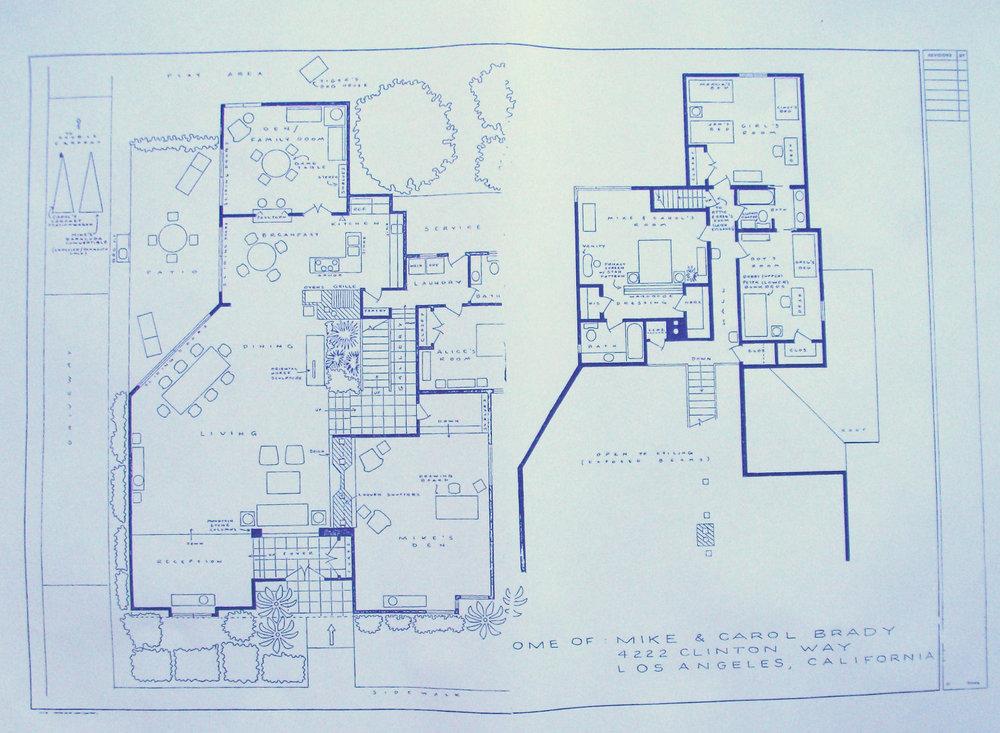 Attractive Brady Bunch House Floor Plan #6: Brady Bunch House Floor Plan