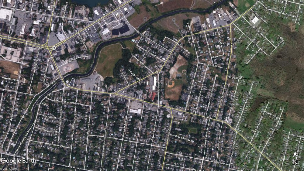 Can you spot the Local, Collectors, and Arterials in Pittsfield?