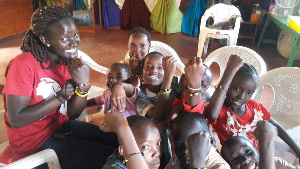 Huruma Initiative-Kasey and girls.jpeg