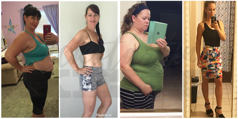 Melissa (left) and Aimee (right) - Combined, they have lost over 200 lbs and maintained, while gaining muscle and improving their overall health.