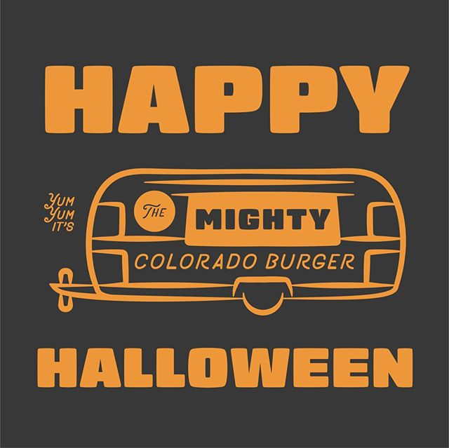 Happy Halloween!!! Come treat yourself to a not so spooky steal of a deal with our $10 burger + beer lunch special M-F! #mightyburger #burger #twiceasnice #DBC #denverbeerco #arvada #halloween #halloween2018 #happyhalloween