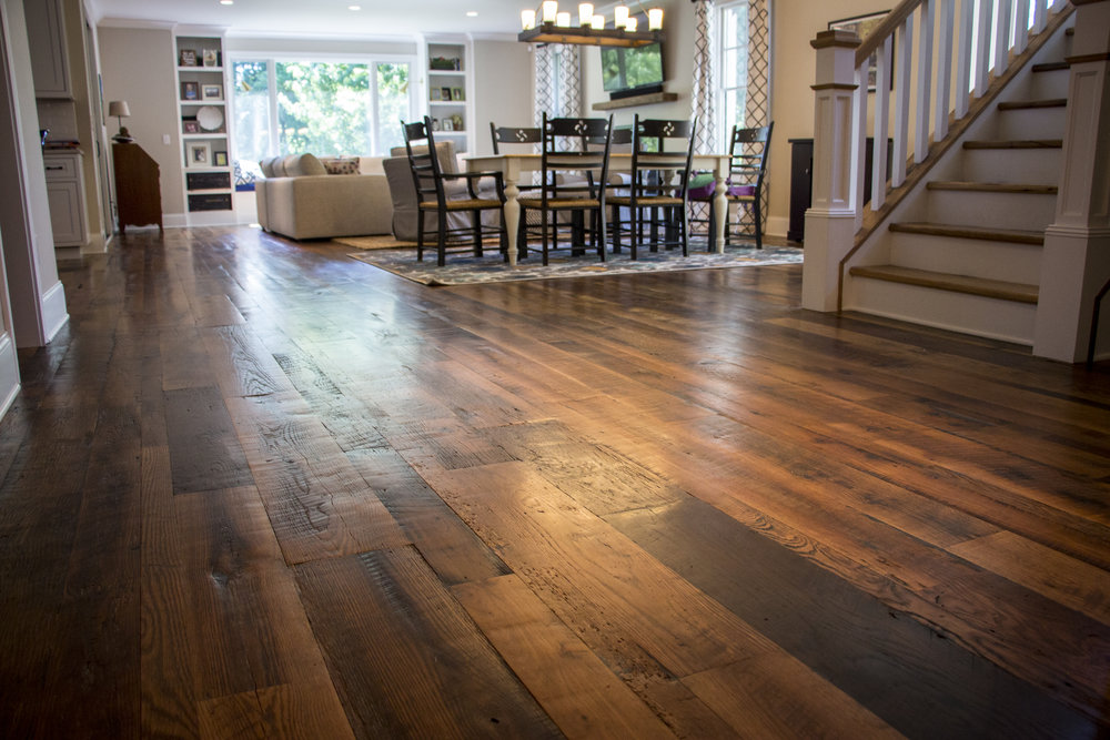 CERTIFIED RECLAIMED FLOORING
