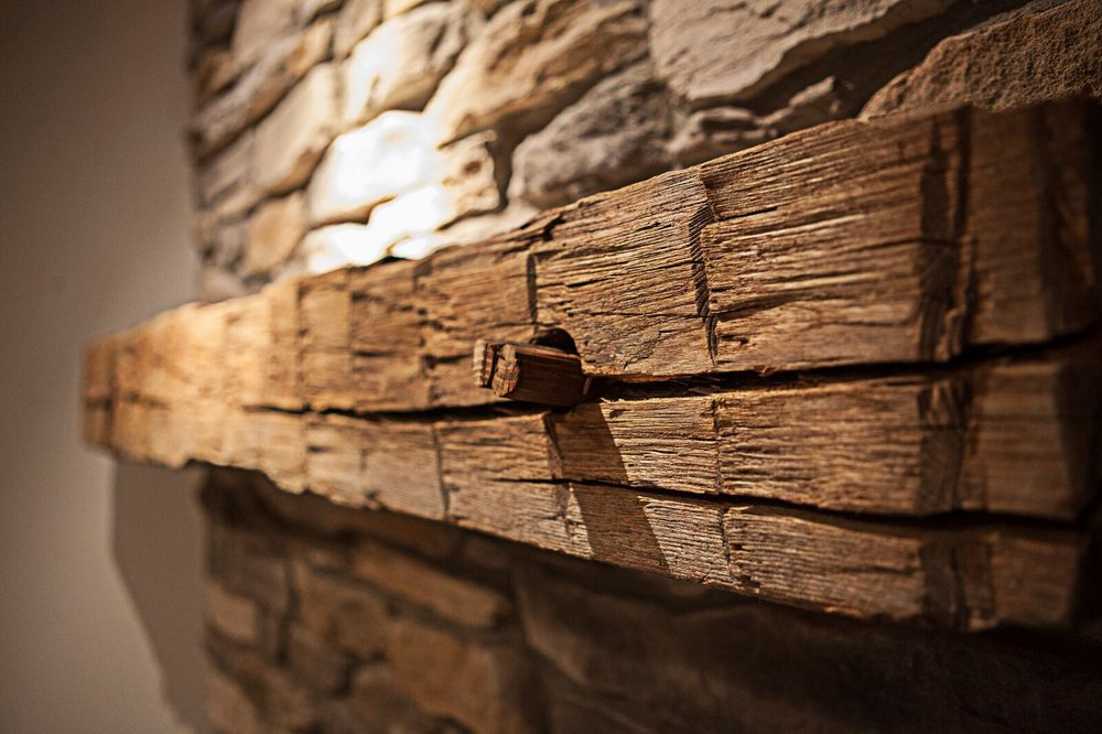CERTIFIED RECLAIMED MANTELS AND BEAMS