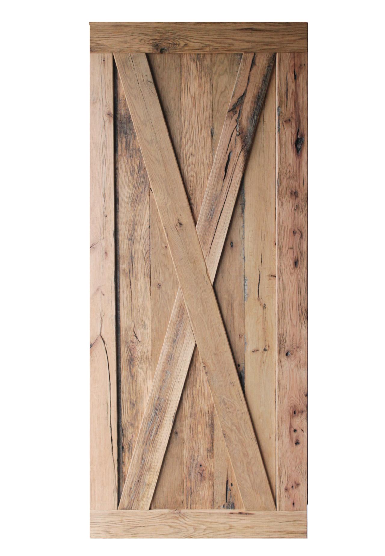 X Pattern Barn Door ...