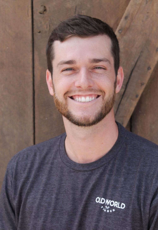 Garrett Ebel - Senior Sales Executivegarrett@oldworldtimber.com