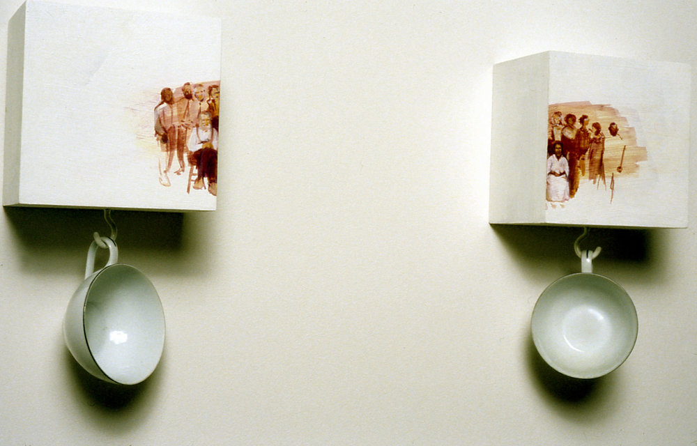 26 Lookin Glass 7, 1999, mixed media, 10 x 36 x 5 in..jpg