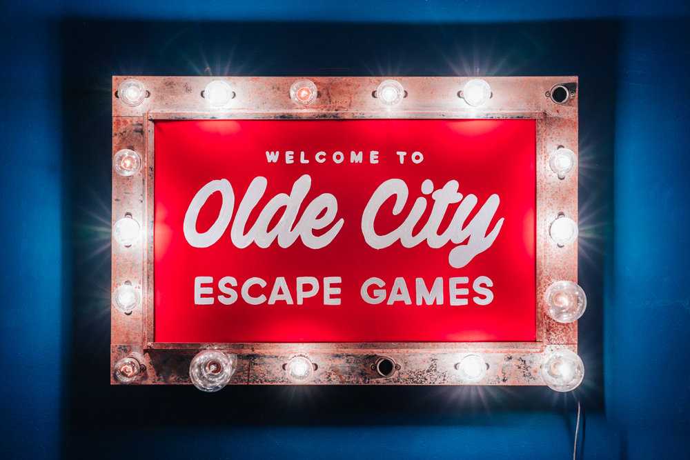 Welcome to Olde City Escape Games - 60 minute adventures await
