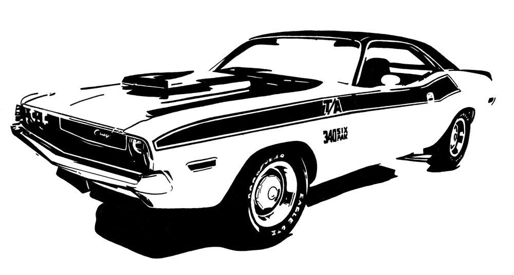 '70 Dodge Challenger