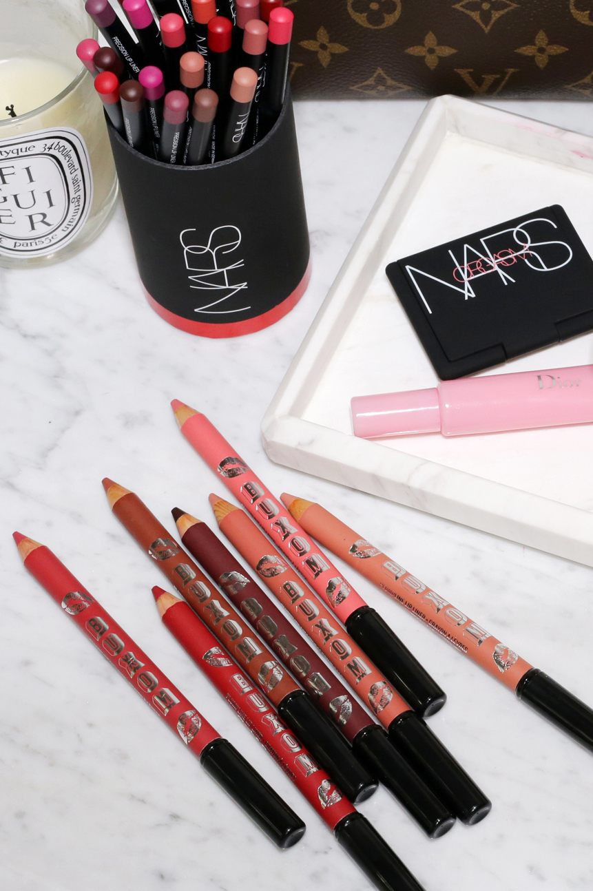 My favourite lip liners + trying some newbies_8863.JPG