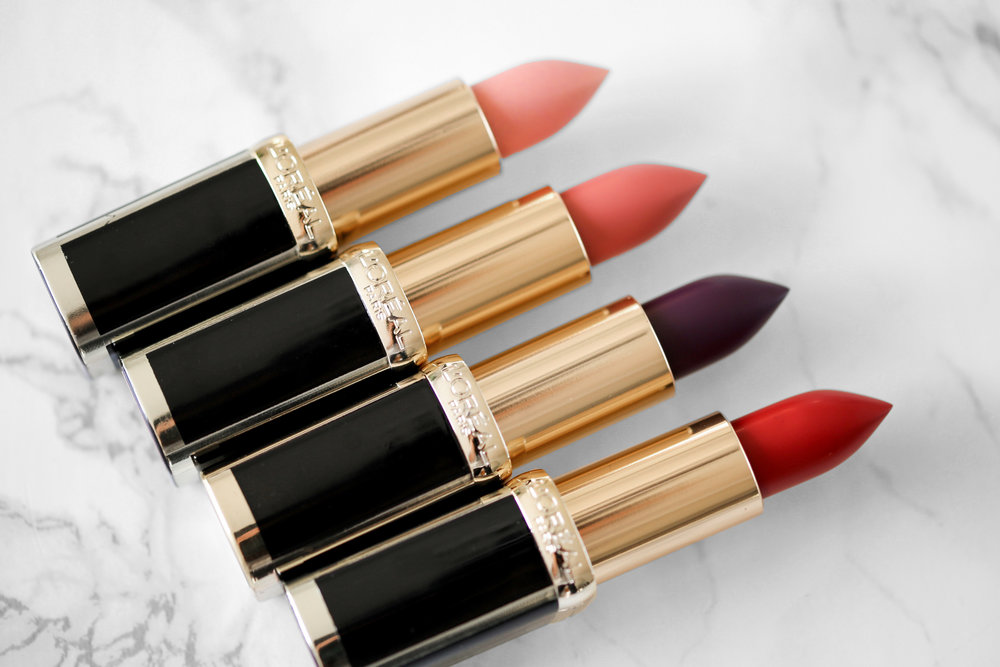 L'Oreal X Balmain Couture LIPSTICK collection - Confidence, Liberation, Domination, Confession Swatches-2072.JPG