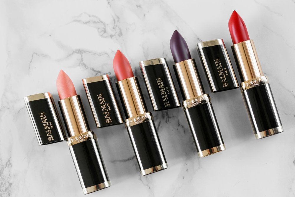L'Oreal X Balmain Couture LIPSTICK collection - Confidence, Liberation, Domination, Confession Swatches-2077.JPG