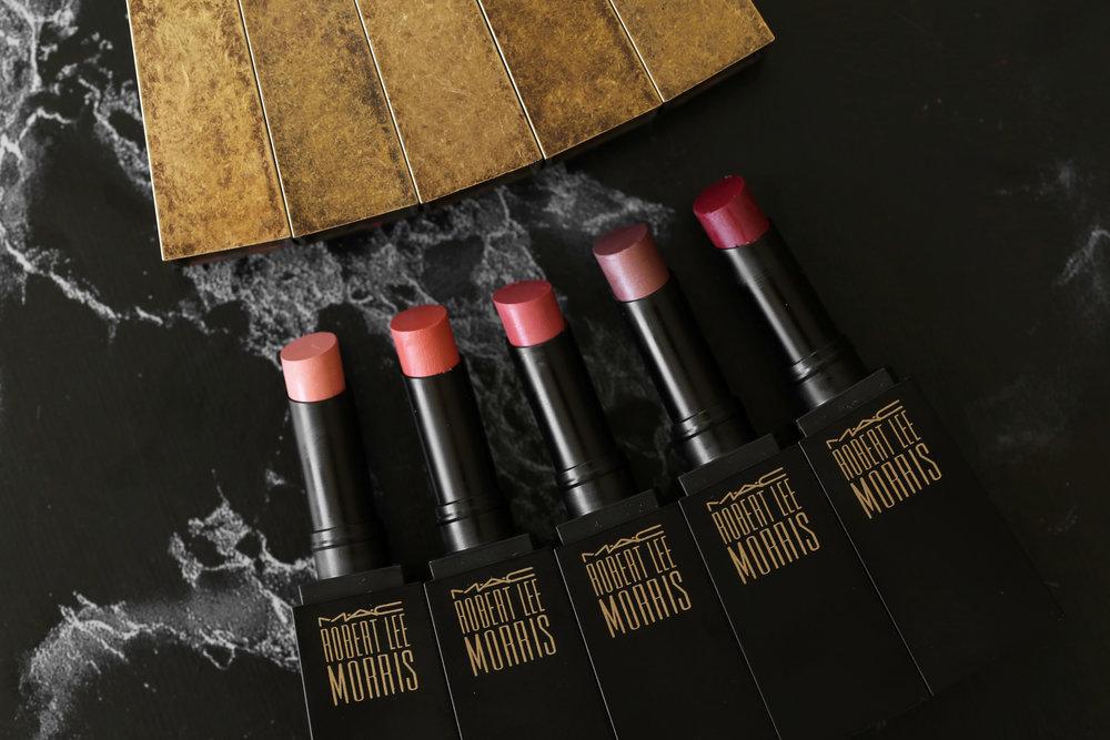 MAC x Robert Lee Morris makeup collection 2017 lipstick, blush, powder, compact, brush, beauty_5402.jpg