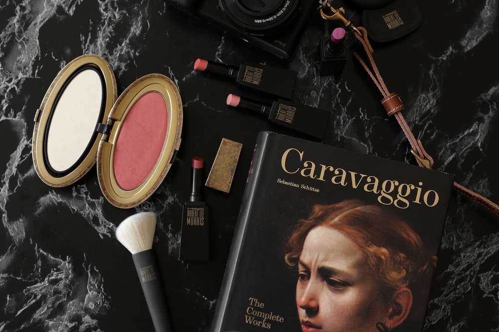 MAC x Robert Lee Morris makeup collection 2017 lipstick, blush, powder, compact, brush, beauty_5546.jpg