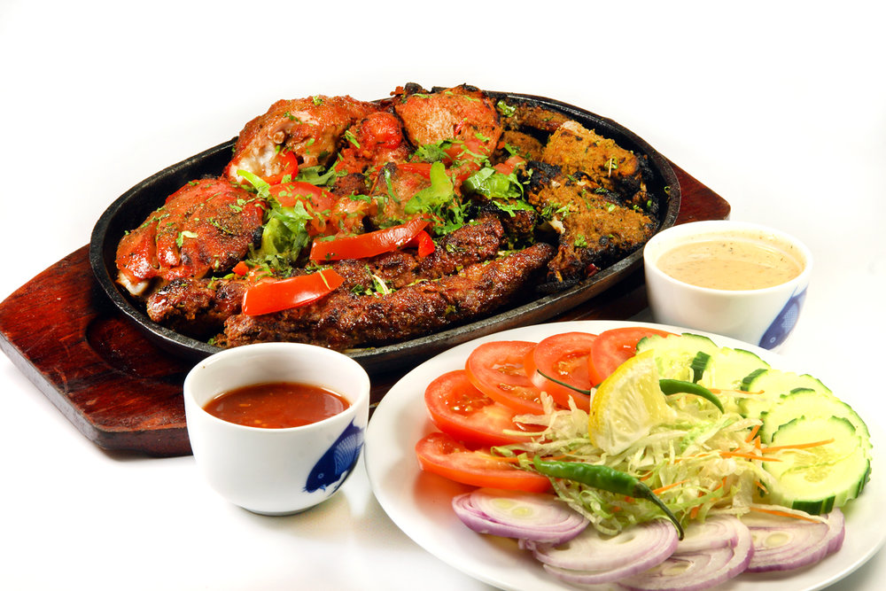 In Picture: Tandoori Chicken Tikka Sizzler