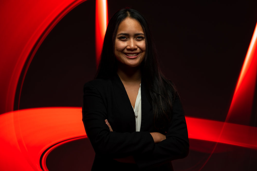 Ruthfi AzzahraVP Corporate Relations - Ruthfi - or better known as Lula, moved to New Brunswick, Canada in 2015 from Jakarta, Indonesia. Ever since she moved to Canada, Lula has taken every opportunity that came her way to be more involved in her community. She is doing a double major in Finance and Accounting and is pursuing a career in Capital Markets.Other than her involvement with the business society, she is a Primary Student Senator on the Academic Planning Committee, Co-Founded the Business Student Awareness Initiative, and a Student Associate for the Bridge to Capital Markets organization. Lula tries to give back as much as she can towards the Fredericton community as well, she regularly volunteers at the Fredericton Community Kitchen and the Dr. Everett Chalmers Regional Hospital.Her passion includes research, reading, and keeping up to date with market news.
