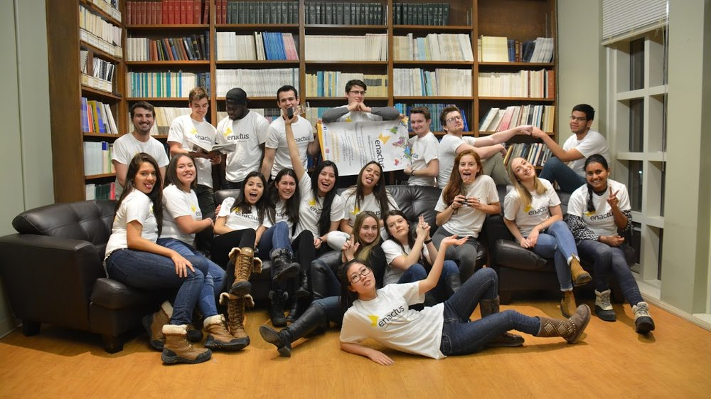 Enactus - Enactus is an international nonprofit organization dedicated to inspiring students to improve the world through entrepreneurial action. Rewrite New Brunswick's story by establishing a new culture of entrepreneurial change.
