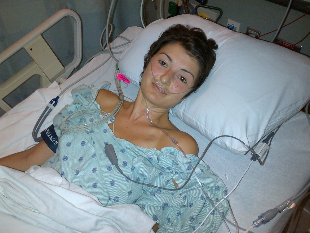 Following her second liver surgery to remove metastasis on her liver