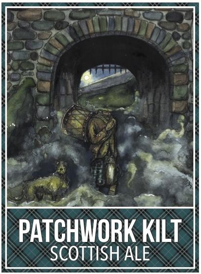patchwork kilt