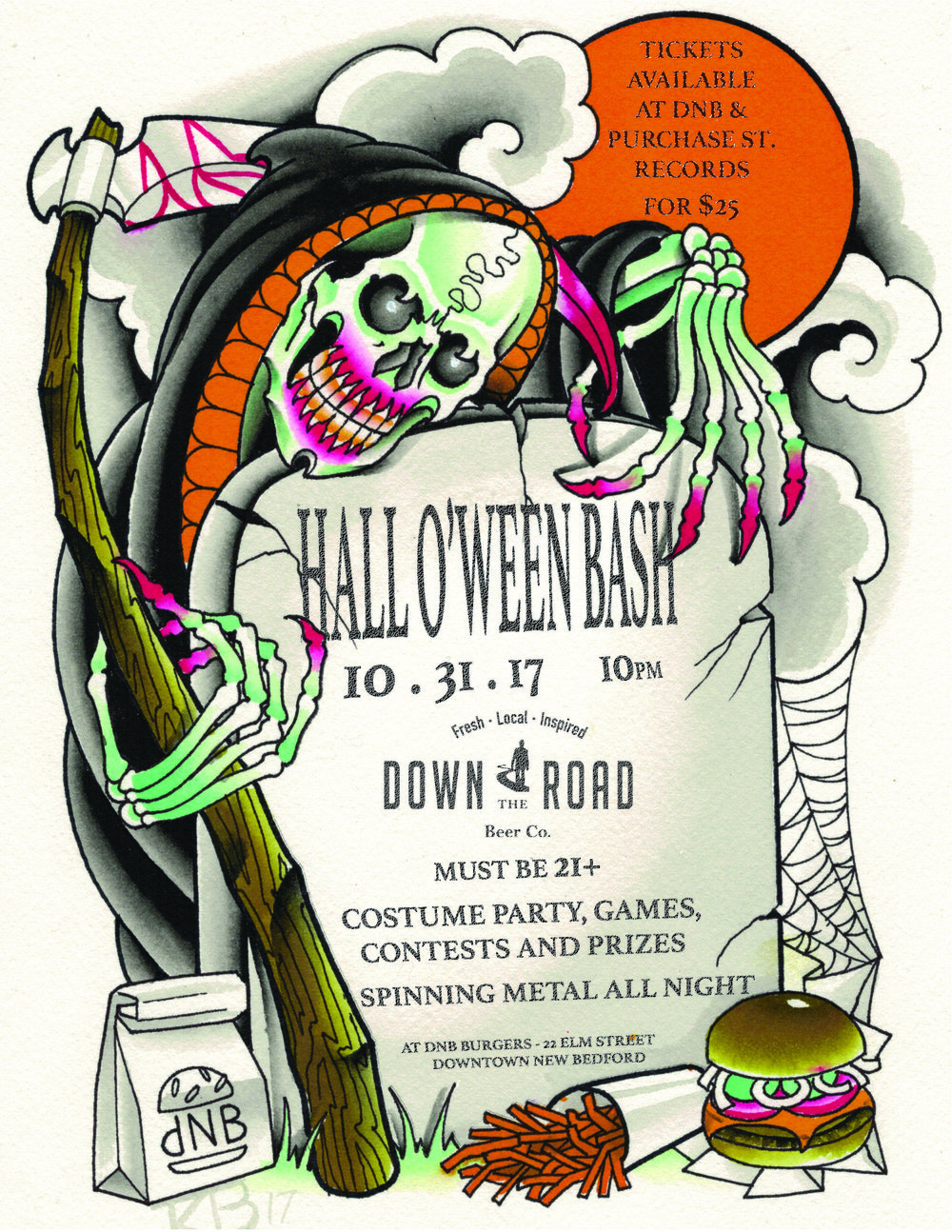 HALLO\'WEEN BASH WITH DNB — Down The Road Beer Co.