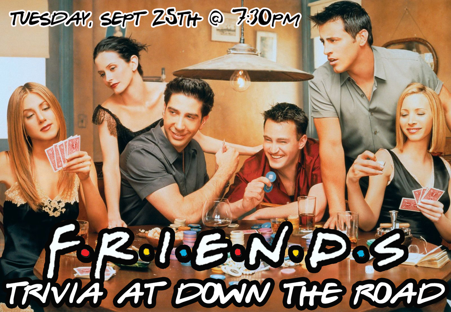 Friends Trivia — Down The Road Beer Co