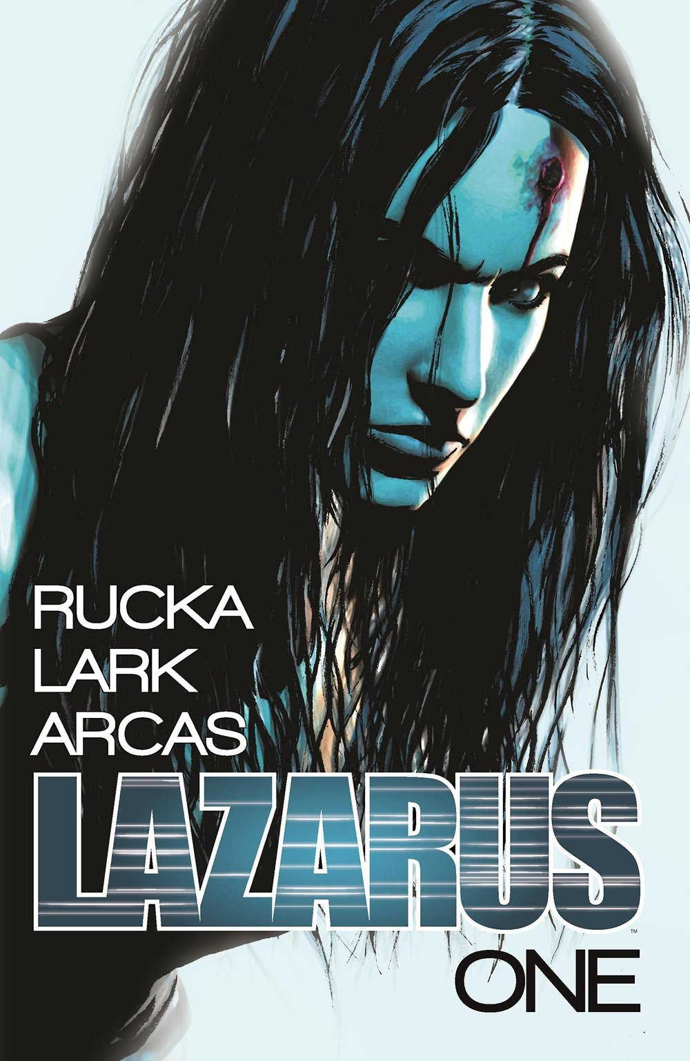 Lazarus Vol 1 - Gib's PickForever Carlyle is a Lazarus.  A person who has been engineered to heal from almost any damage, up to and including death itself.  Her