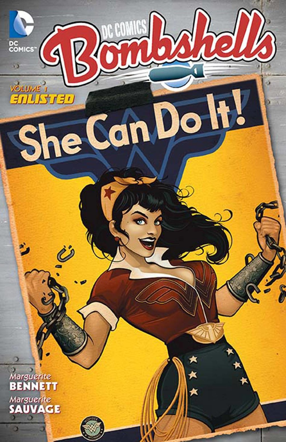 DC Comics Bombshells Vol 1  - Sarah's PickDo you like the movie A League of Their Own? Have you ever found yourself wondering