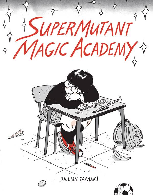 SuperMutant Magic Academy GN - Lauren's PickDo you have a love/hate relationship with classic X-men? Do you wish Harry Potter didn't take itself quite so seriously? There is another way. Join the students of the SuperMutant Magic Academy as they embark upon a school year full of teen angst, unrequited love, and the occasional threat to the balance of the universe. In this series of short comics, Jillian Tamaki (This One Summer GN) crafts a story that alternates between hilarious and profound tones with ease. Buy it today, then come back tomorrow and tell me which character spoke most strongly to your inner magical teen.
