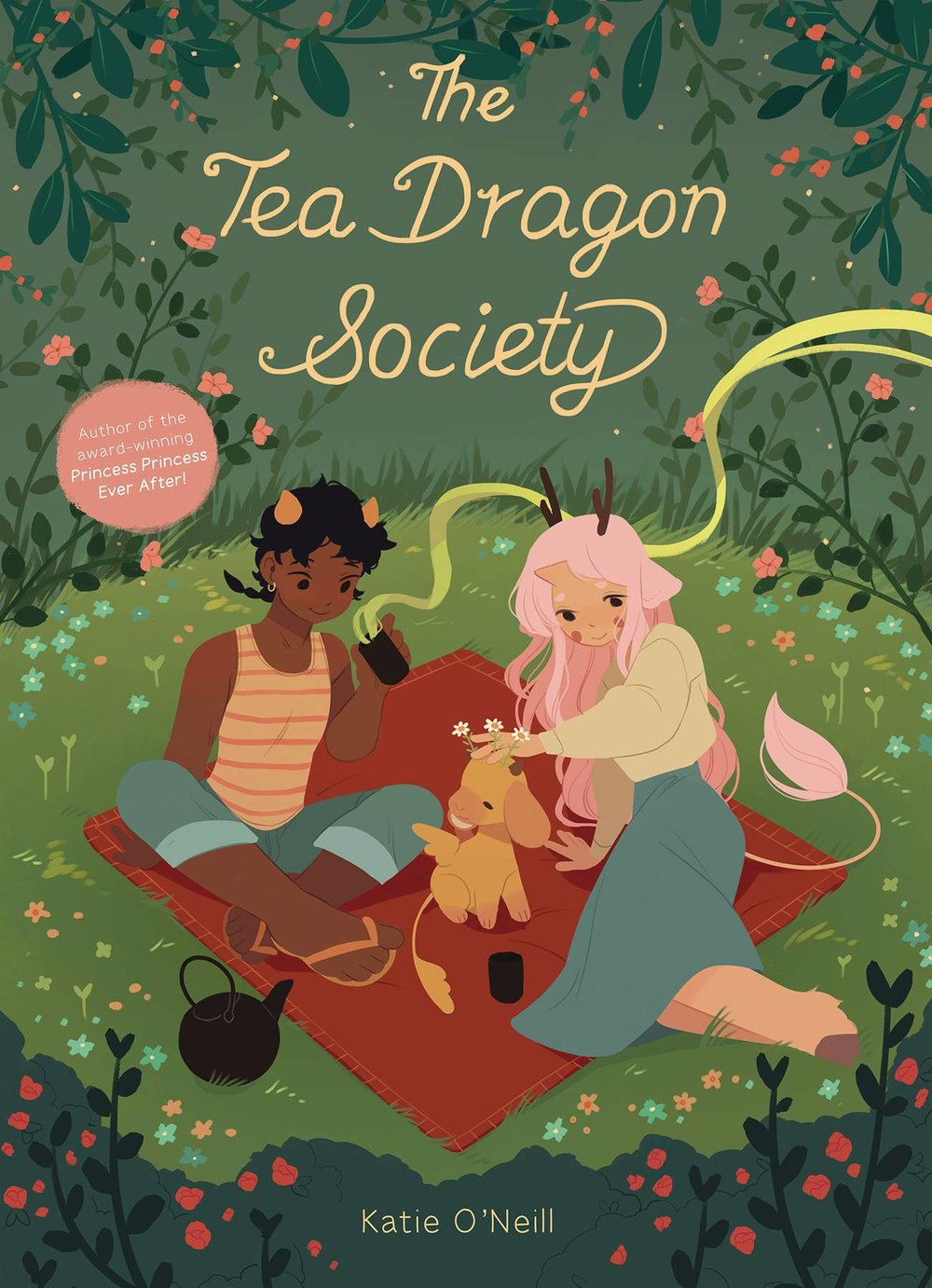 The Tea Dragon Society HC - Sarah's PickGreta, the young daughter of a blacksmith, is contemplating whether or not she wishes to continue in her mother's profession when she randomly stumbles upon a small, adorable, lost Tea Dragon in need of assistance. As thanks for returning his companion, an older man named Hesekiel offers to teach Greta the art of caring for these tiny creatures.Creator Katie O'Neill (Princess Princess Ever After) returns with her beautiful colors and character designs to tell this story of new friends, relationships, and the ability to keep memories alive through traditional crafts passed down through the generations. Perfect for all ages!