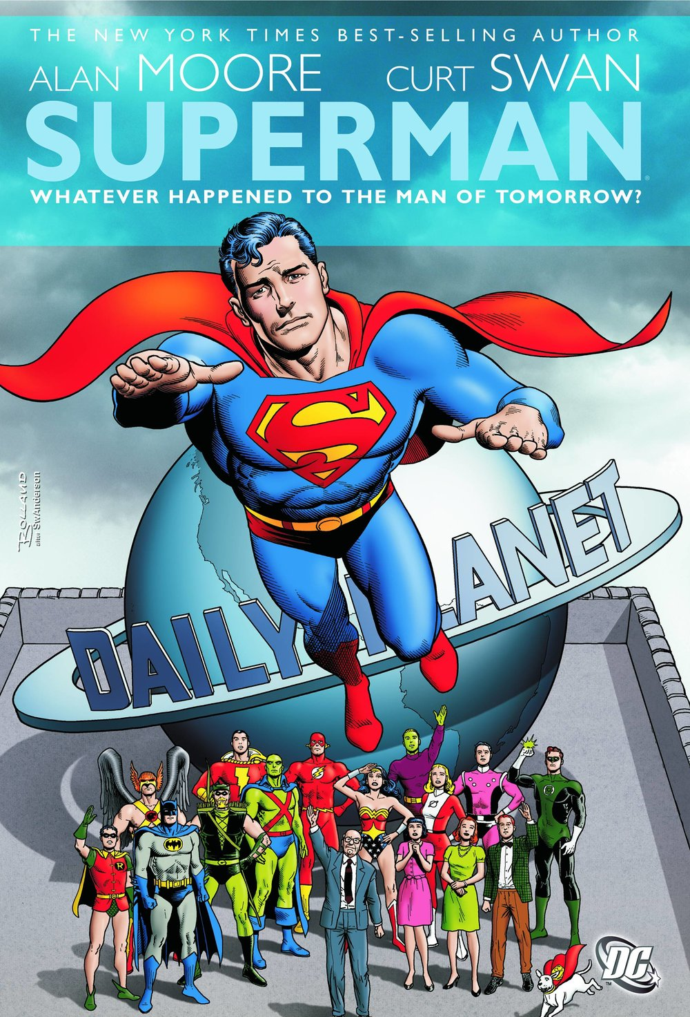 Superman: Whatever Happened to the Man of Tomorrow? - Mike's Pick (#2)In the mid '80s, DC enacted their first continuity reboot with the classic maxi series, Crisis on Infinite Earths.  Since they would be effectively starting their whole line over with a new beginning, it provided an opportunity for endings as well.  This is rare for traditional superhero comics as they're designed to go on indefinitely.  The honor of providing an end for the first superhero, the inspiration for all the legions that would follow, fell to the peerless Alan Moore (Watchmen) and the man that many would describe as the perfect Superman artist, Curt Swan (Action Comics).  Evoking a bygone era while still retaining a contemporary approach, Moore and Swan create a truly bittersweet and heartfelt salute to a Superman that would soon be obsolete.  Crafting satisfying resolutions to decades long storylines and relationships was a monumental task, but they make it look easy.  In our era of decompressed storylines, it's even more amazing that it only lasts two issues.  I'm not the biggest Superman fan, but this tale of his last battle has remained one of my favorite stories since its debut.  It deserves a spot on any superhero fan's shelf.  It's available now as part of the DC Universe by Alan Moore TPB.