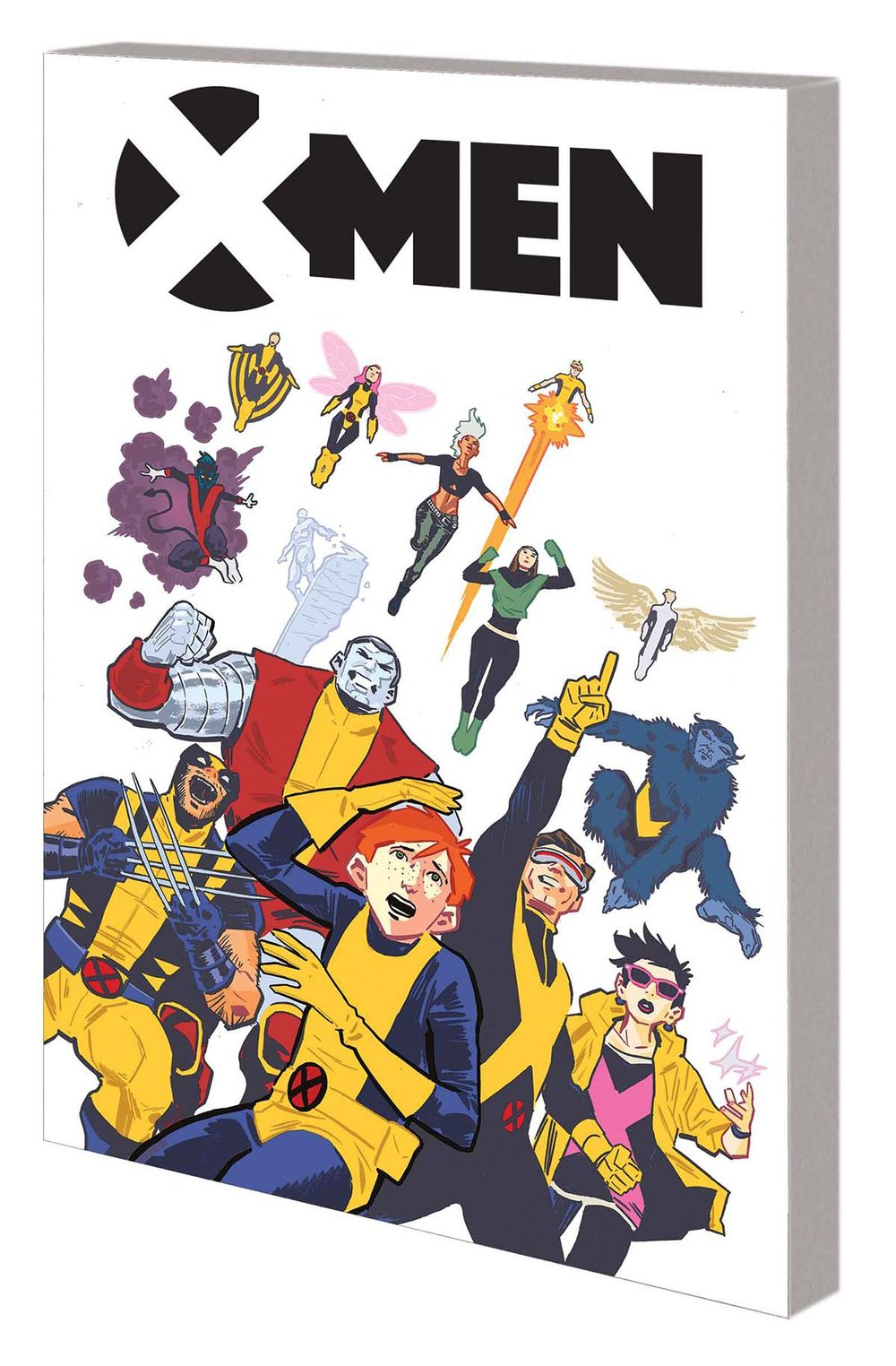 X-Men: Worst X-Men Ever TP - Lauren's PickBailey is a depressingly unremarkable teenage boy, until he's not. Surprise! When his parents tell him he's a mutant, his future seems limitless. Finally it's his time to be the special one! Then he finds out what his power is, and it all goes downhill again. It's a tale as old as Chris Claremont, weaving classic X-themes of social isolation and angst with a modern self-awareness to create something that feels brand new. Writer and Say Anything frontman Max Bemis embraces everything that's good and bad about the history of the team and offers a very satisfying explanation for years of convoluted time travel and retcons, all the while crafting a superhero story that stands on its own. The Worst X-man Ever is the best X-men story you'll find!