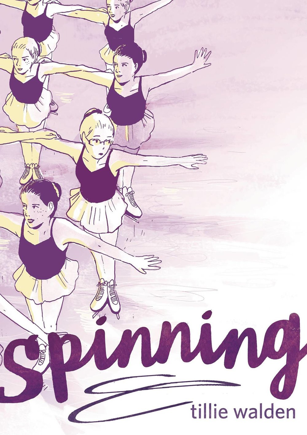 Spinning GN - Lauren's PickCarry on your Olympic spirit with this graphic memoir! Cartoonist Tillie Walden (The End of Summer) spent much of her adolescence as a competitive figure skater, a period of life she chronicles in Spinning. Though she once appreciated the strict discipline and structure of skating, over the course of the story her developing individuality begins to put our narrator at odds with the narrow mold of femininity intrinsically tied to her world. Through the lens of her ever-more-complicated relationship with the sport, Walden takes readers on a journey into the complications of life as a young girl being pulled in a million different directions.