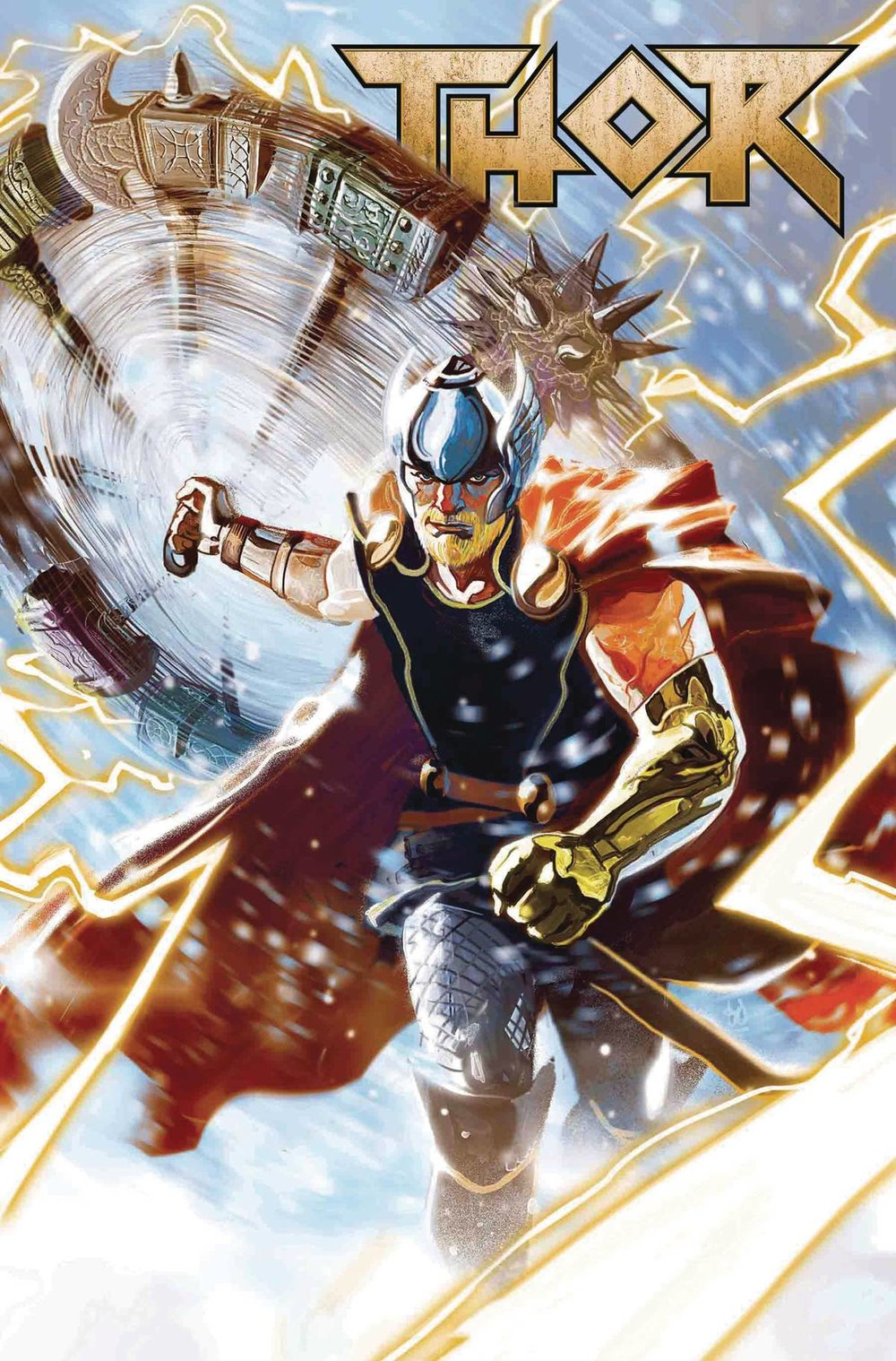 Thor #1 (LGY #707) - Trish's PickWriter: Jason AaronArtists: Michael Del Mundo, Christian WardColorists: Christian Ward, Marco D'Alfonso and Mike Del MundoLetterer: Joe SabinoJason Aaron's long run on Thor begins a new tale - a tale of Asgardian brothers that seem to be going on a road trip through Niffleheim? Thor is back, and Loki and Balder join him now with their trusty hellhound and goat as they all find themselves teleported to the realm of the dead. The painted art style by Del Mundo is an incredible fit for Thor, not only is his art always insanely gorgeous but each realm that is visited feels unique due to the vast array of selected colors used for each. The first half of the issue mentions recent continuity, but each story is quickly summarized and wrapped up before the new story begins which makes this issue incredibly friendly for new readers. Please read Thor, thanks, I love him.